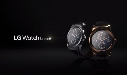 LG Watch Urbane and its LTE variant gets official, here are hands-on videos