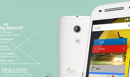7 ways Moto E is defeated by Lenovo A6000