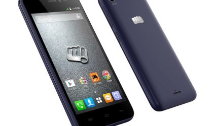 Micromax Canvas Pep with 4.5-inch screen and 1GB RAM launches for INR 5,999