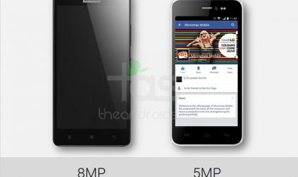 Micromax Canvas Pep vs Lenovo A6000