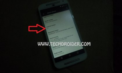 Android 5.1 spotted again, this time on a Moto G (2014)