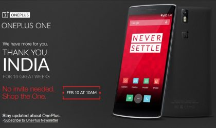 OnePlus One going on 24-hour invite-free sale tomorrow in India
