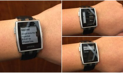 [Cheers!] Pebble now supports Android Wear apps