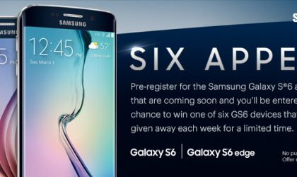 Sprint to giveaway Six Galaxy S6 to people who pre-register the device, promotional picture leaks out