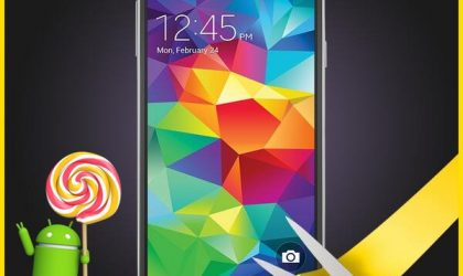 Sprint Galaxy S5 Android 5.0 Lollipop OTA coming in 8 hours, build number G900PVPU1AOA6