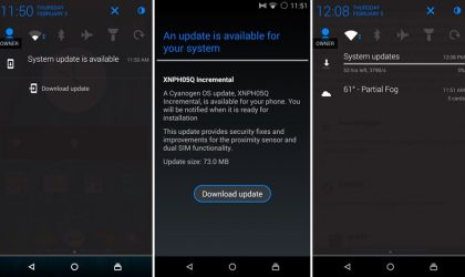 Yu Yureka OTA update rolling out, Cyanogen OS version 11.0XNPH05Q