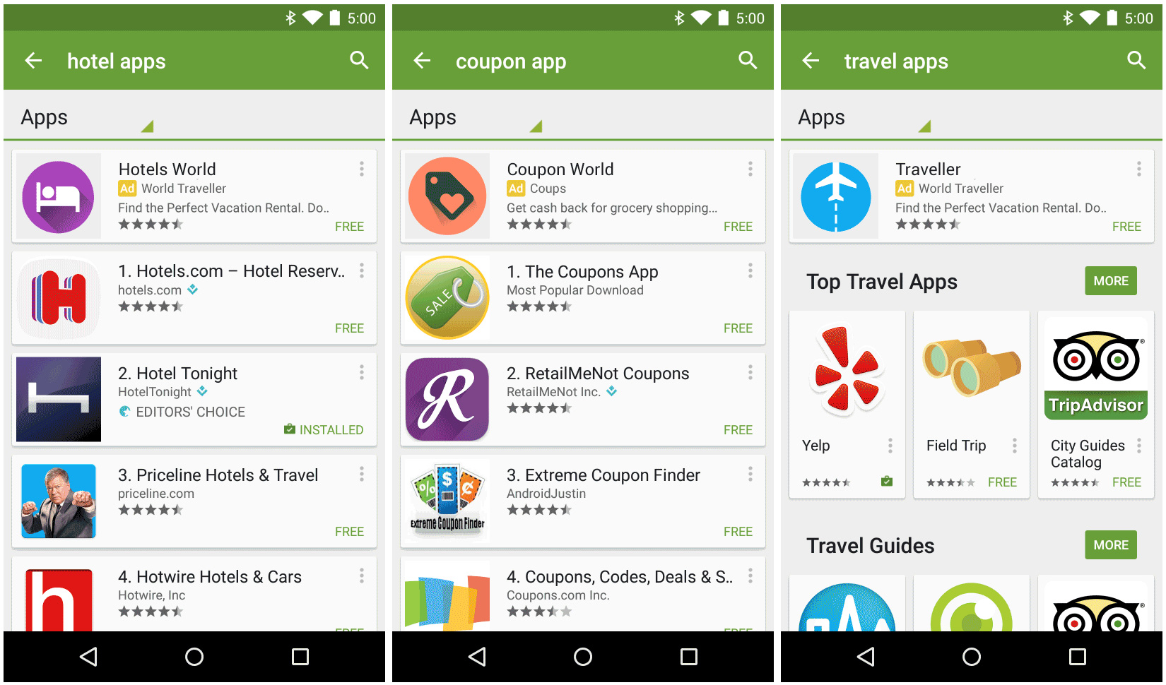 Jumping the queue: Google to allow advertising applications on the Play  Store