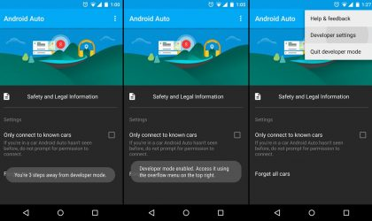 How to Enable Developer mode on Android Auto