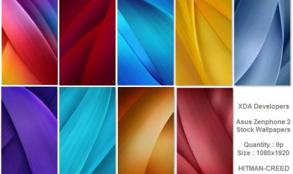 Grab the Asus Zenfone 2 wallpapers here!
