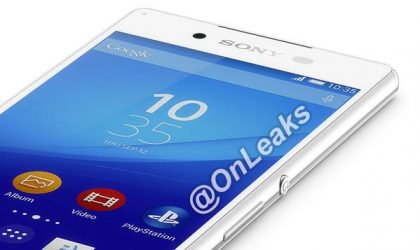 Sony's upcoming Xperia Z4 photographs leaked, looks exactly like the Z3