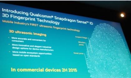 Qualcomm unveils Sense ID with ultrasonic fingerprint sensors at the MWC