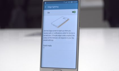 [Galaxy S6 edge features] 7 cool things Galaxy S6 edge's dual-edge display could do