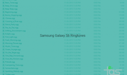 Download Samsung Galaxy S6 Ringtones