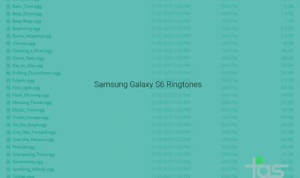 Download Samsung Galaxy S6 Ringtones