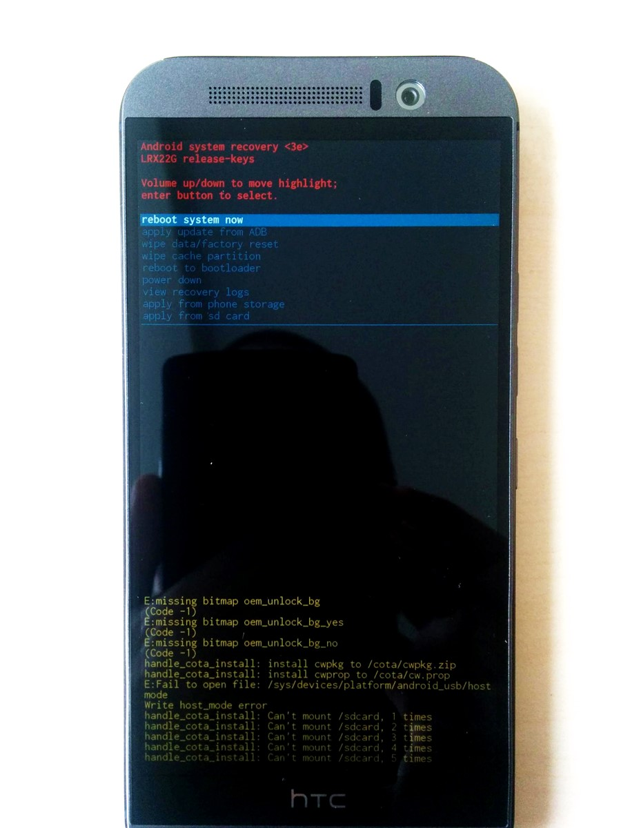 How To Boot Into Htc One M9 Recovery Mode