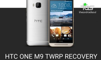 How To Install TWRP Recovery on HTC One M9