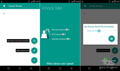 'Knock Me' lets caller make your phone ring even in silent mode!