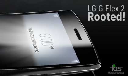 LG G Flex 2 Rooted thanks to new Root Tool