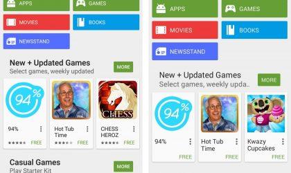 [APK] Google Play Store updated to 5.3.6, gets a few UI tweaks