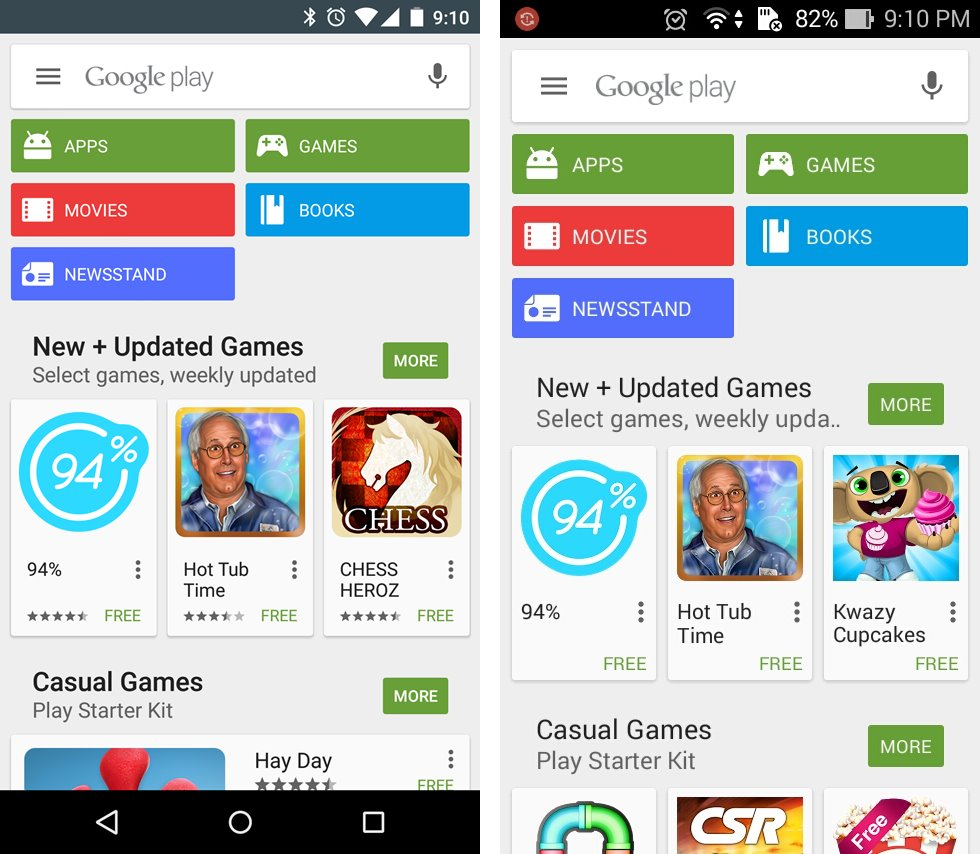 New Search Bar Play Store – The Android Soul