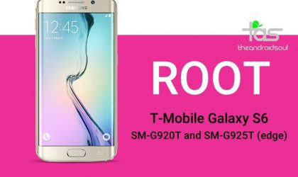 How to Root T-Mobile Galaxy S6 and S6 edge