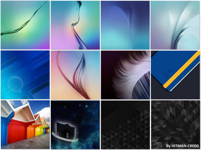 Download All 12 Samsung Galaxy S6 And S6 Edge Wallpapers