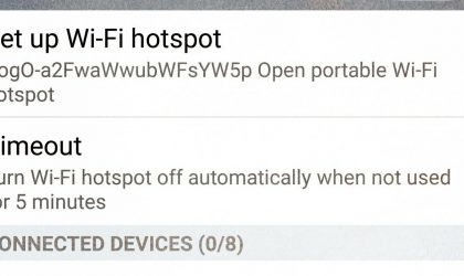 Enable Wifi Tethering/Hotspot on your Sprint HTC One M8