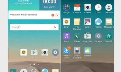 Download T-Mobile LG G3 stock Android 5.0 Lollipop update available in a custom ROM