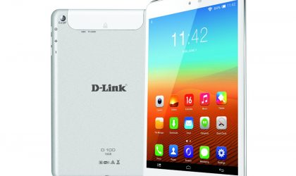 D-Link Enters the Indian Tablet Market with D100 for INR 13,550