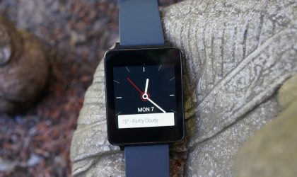 Verizon offers the LG G Watch at a slashed price of $99
