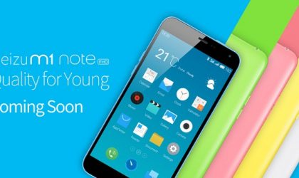 Meizu M1 Note To Soon Launch in Global Markets