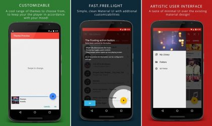 Lantern Music Player is a beautiful intuitive app you'd want!