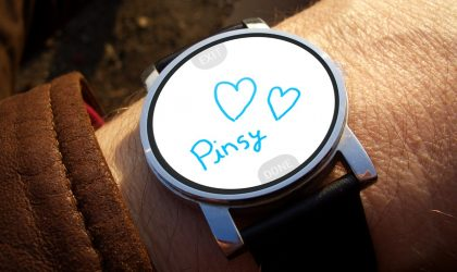 Pinsy is poor man's Real Touch messaging from Apple Watch, for Android phones and watches