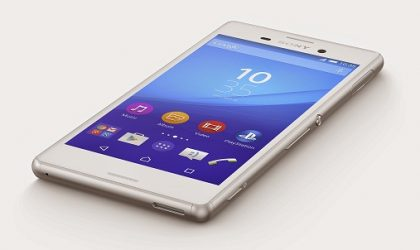 Sony Xperia M4 Aqua Waterproof Smartphone available for sale in the U.K.