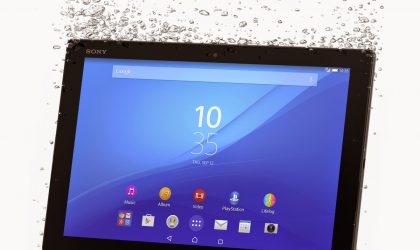 MWC 2105: Sony announces Xperia Z4 tablet, the world's thinnest tablet