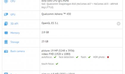 Sony Xperia Z4 and LG G4 Specs Leak via GFXBench Database