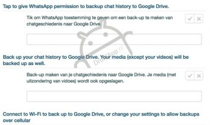 You Can Soon Backup and Restore WhatsApp Chat History and Messages Via Google Drive