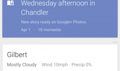 Google improves its photo backup, automatically conjures up stories