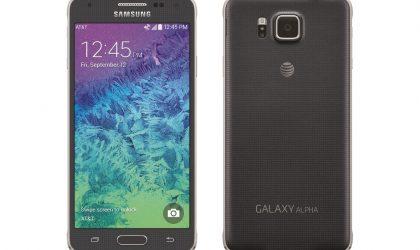 AT&T Galaxy Alpha Lollipop update now rolling out, build G850AUCU1BOC6