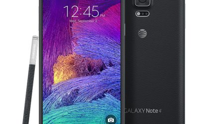 AT&T Galaxy Note 4 receiving an OTA update with build number N910AUCU1COC4