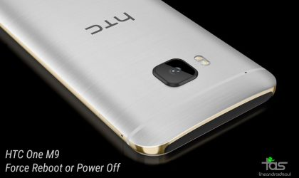 How to Force Reboot/Power Off HTC One M9 and M9+