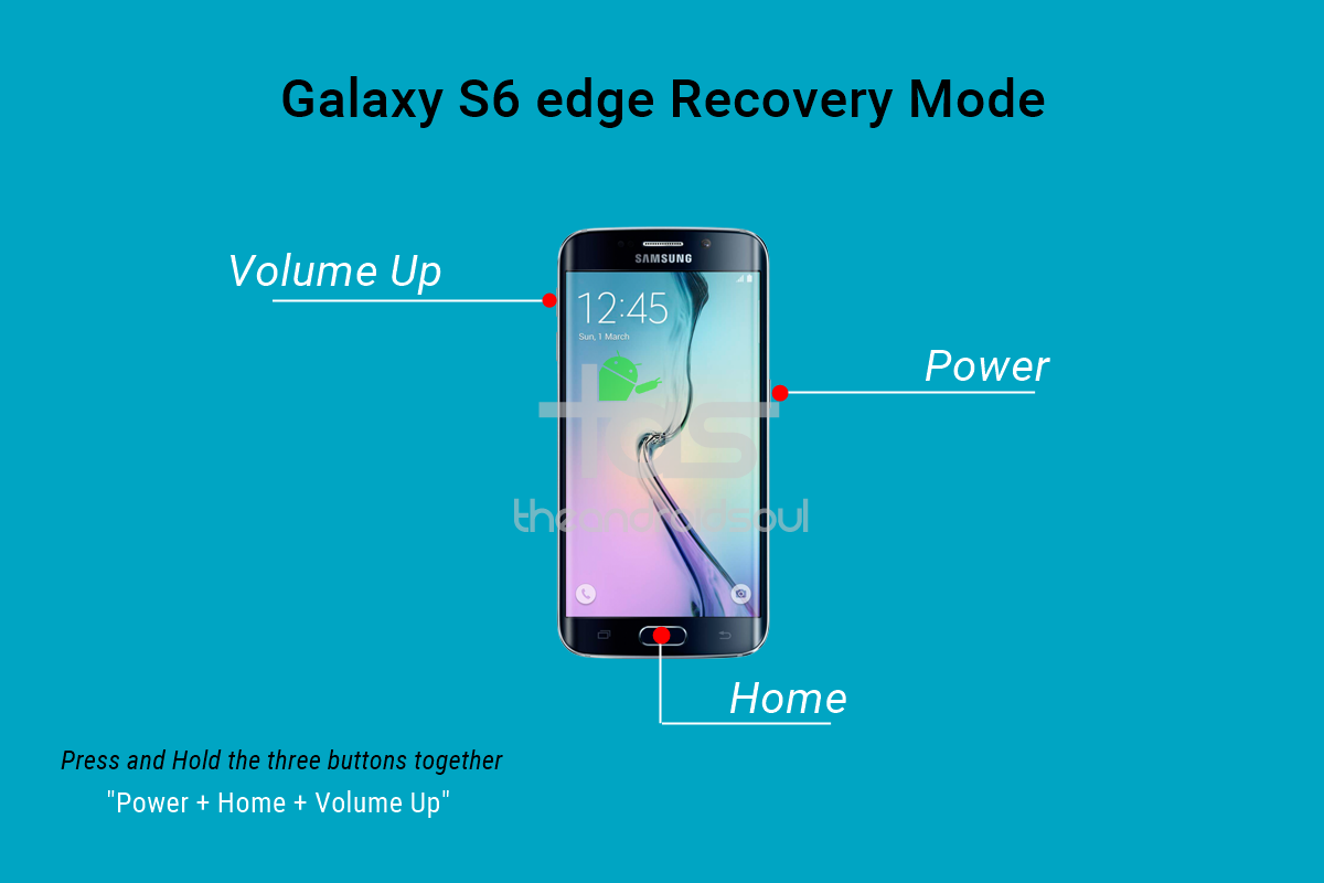 How To Boot Into Galaxy S6 And S6 Edge Recovery Mode