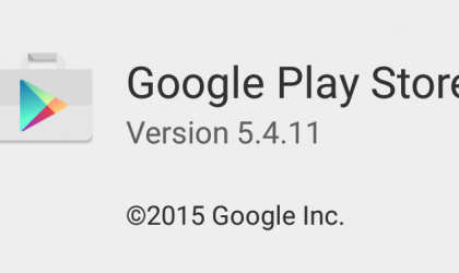 [APK] Google Play Store 5.4.11 rolling out