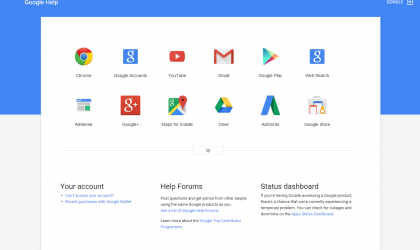 Google rolls out Material design to all of its support pages, looks beautiful