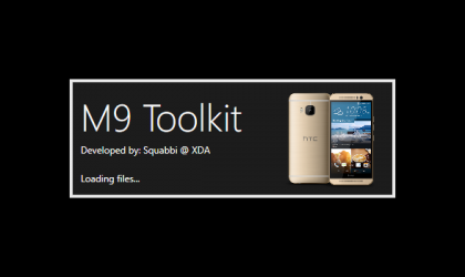 HTC One M9 Toolkit lets you unlock bootloader, sideload zip files, update recovery and install ADB and Fastboot drivers