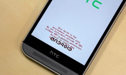 How to Remove Red Text Warning from HTC One M9 ABOOT