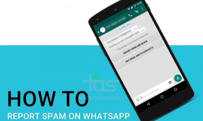 How to Report Spam on WhatsApp
