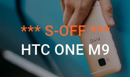 How to S-OFF HTC One M9