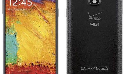 Verizon Galaxy Note 3 Lollipop Update being pushed, build N900VVRUEOB6