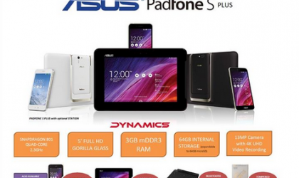 Asus Padfone S Plus with 3 GB RAM Launched in Malaysia for $302